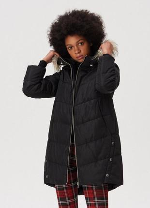 Чёрная демисезонная куртка на весну
