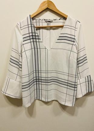 Блуза h&m p. 36/6 #651 новое поступление 🎉🎉🎉1+1=3🎁