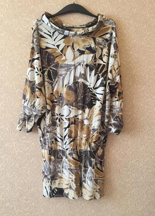 Женская красивая платье-туника, размер xxl
