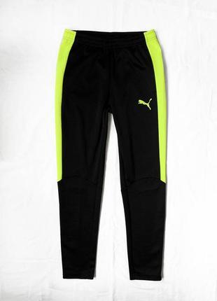 Классные зауженные оригинальные спортивные штаны puma / брюки
