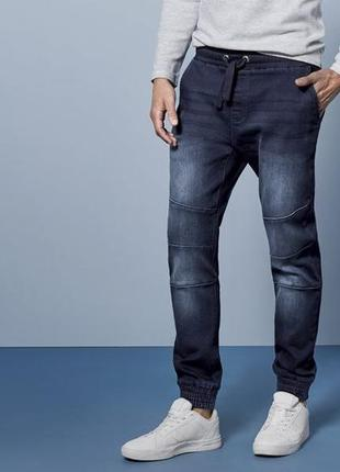 Джинсовые джоггеры, джинсы на резинке 48 euro (32) livergy, германия