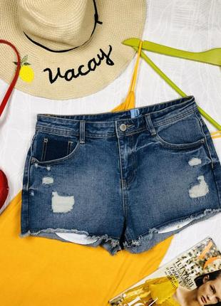 Шорты джинсовые yes yes