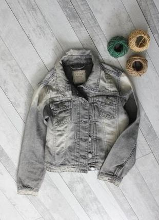 Джинсовый пиджак next на 10 лет
