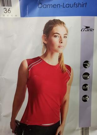 S(36)€ спортивная футболка crane®