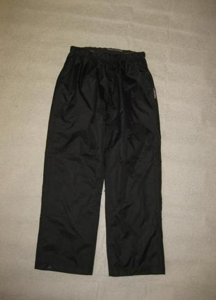 9-10 лет, 130 рост, штормовые непромокаемые штаны didriksons
