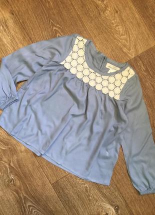 Блузка рубашка hm