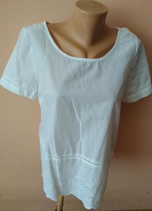 Блуза блузка на короткий рукав
