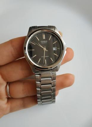 Часы мужские casio mtp-1183p кварц черные чоловічий годинник чорний