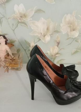 Туфли тотал блек