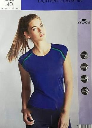 М(40)€.спортивная футболка crane®