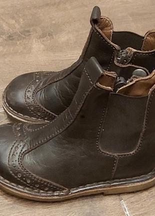 Ботинки кожанные bisgaart 23 размер