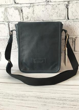 Мужская кожаная сумка через плечо, чоловіча барсетка, кожаная планшетка, слинг