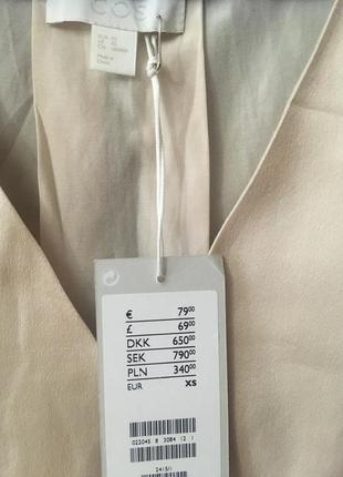 Платье в бельевом стиле cos