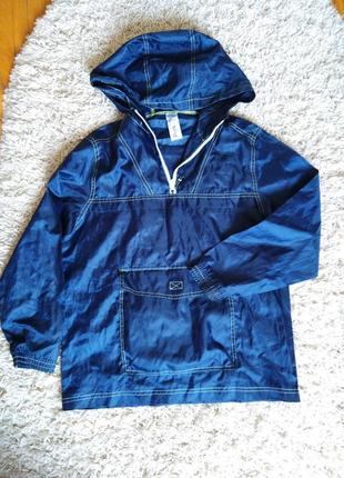 Непромокаемая и не продуваемая ветровка, куртка  дождевик