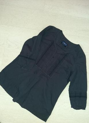 Хлопковая блуза туника