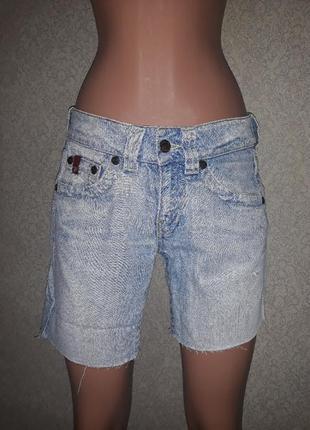 Шорты светлые джинсовые m