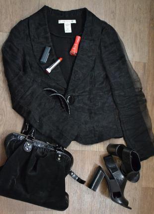 Нарядный шелковый пиджак