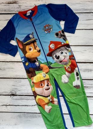 Пижама кигуруми комбинезон щенячий патруль кугурумі комбінезон слип человечек