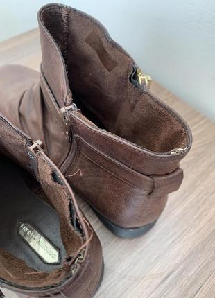 Шоколадні ботінки/ черевики/ боти.6 фото