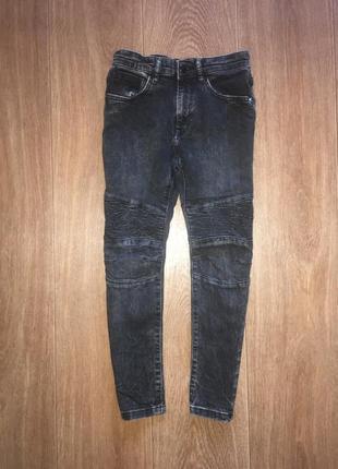 Байкерские джинсы george, указано 7-8 лет. в идеале