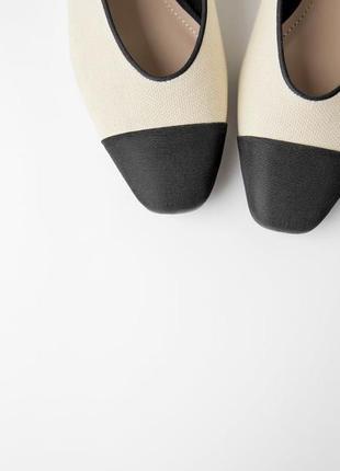 Балетки туфельки zara осталась одна пара с наличия
