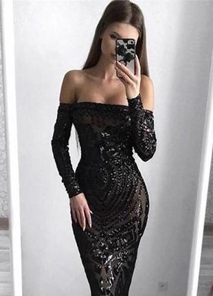 Платье в паетках, в котором вы произведёте впечатление