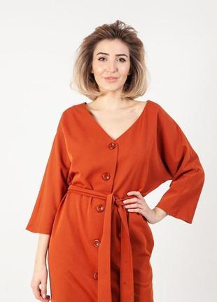 Женское платье pravda оранж