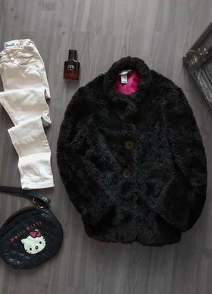 Шубка шуба куртка на девочку h&m