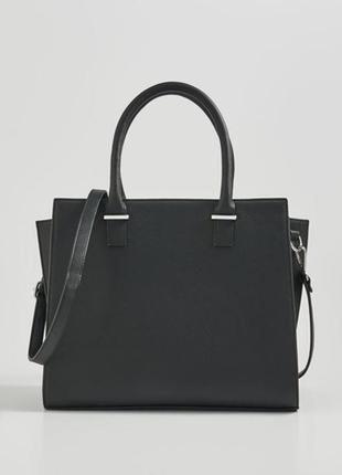 Чёрная женская сумка sinsay