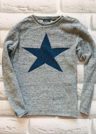 Next стильный свитер на мальчика 5-6 лет