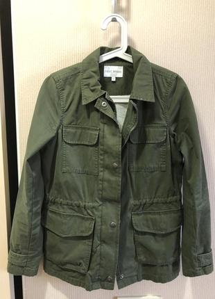 Куртка military весенняя парка анорак next uk 8 petite