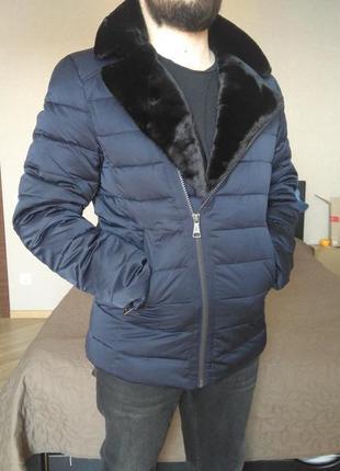 Зимняя куртка пуховик мужской