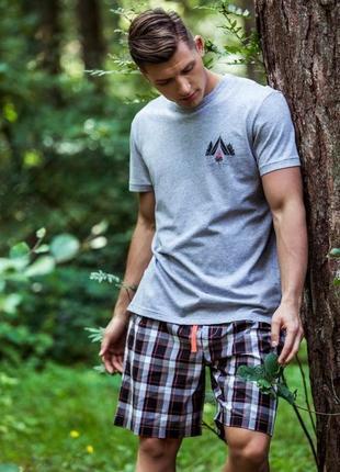 Мужская пижама домашняя одежда key