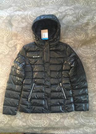 Куртка демисезонная columbia xl6568 женская черная, лёгкая деми xs s m 20201 фото