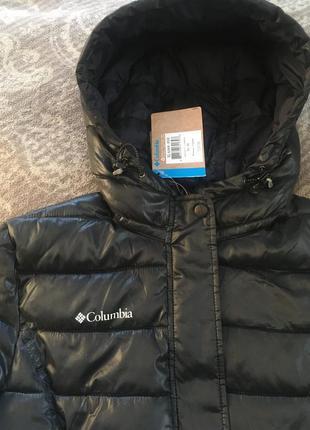 Куртка демисезонная columbia xl6568 женская черная, лёгкая деми xs s m 20204 фото