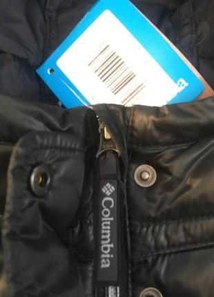 Куртка демисезонная columbia xl6568 женская черная, лёгкая деми xs s m 20205 фото
