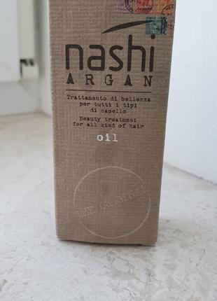 Nashi argan oil, масло для волос, 30 мл