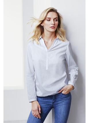 Блуза рубашка 54-56 наш tcm tchibo, германия