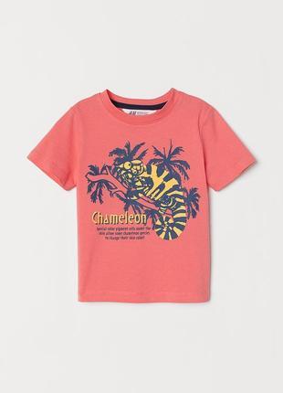 Яскрава футболка для хлопчика на 2-4 р. h&m