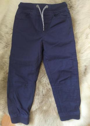 Штаны для мальчика синий цвет на резинках