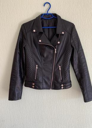 Кожаная куртка косуха lanmas