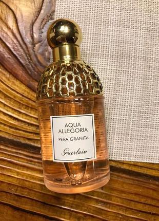 Guerlain aqua allegoria pera granita,75 мл, оригинал