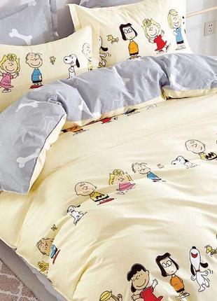 Подростковое полуторное постельное белье viluta сатин 406 детский сад