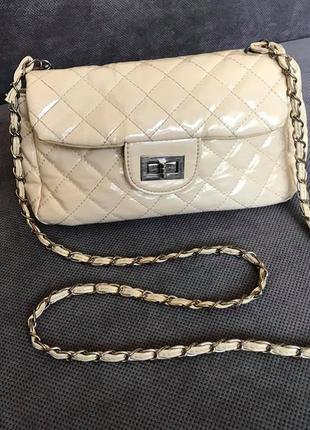 Стильная сумочка в стиле chanel zara h&m