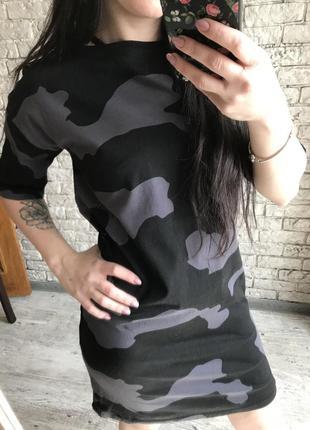 Милитари платье urban planet