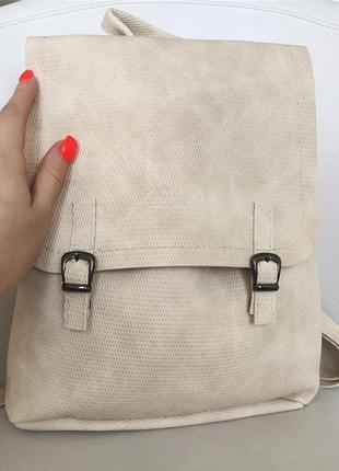 Стильный  молодежный женский рюкзак zara