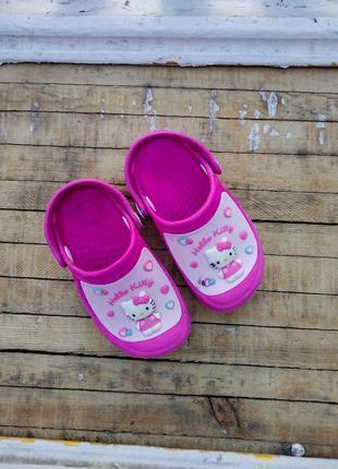 Розовые кроксы тапочки шлепанцы