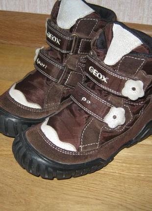 Ботинки geox 27р.
