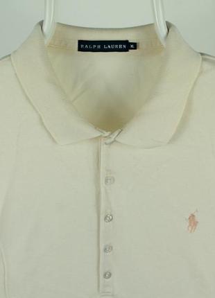 Оригинальное стильное поло ralph lauren slim polo