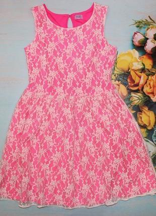 Красивое платье f&f на 10-11лет